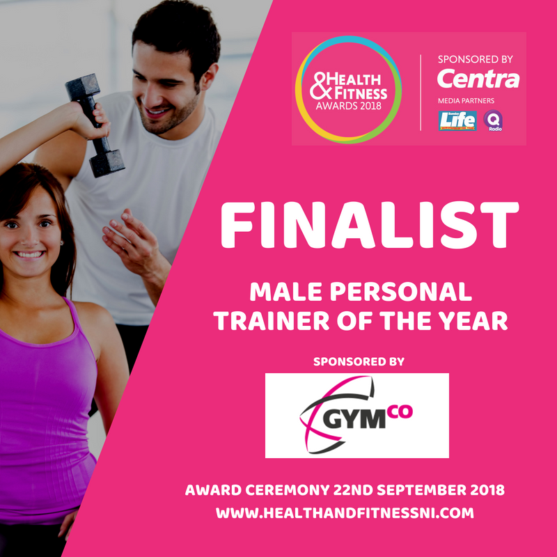 Health & Fitness Awards NI 2018 Male Personal Trainer of the Year Fitness Belfast Gary Milligan 2.png