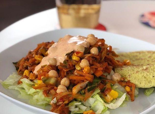 Spicy Pulled Carrot Chick Pea Salad Vegan Fitness Belfast.jpg