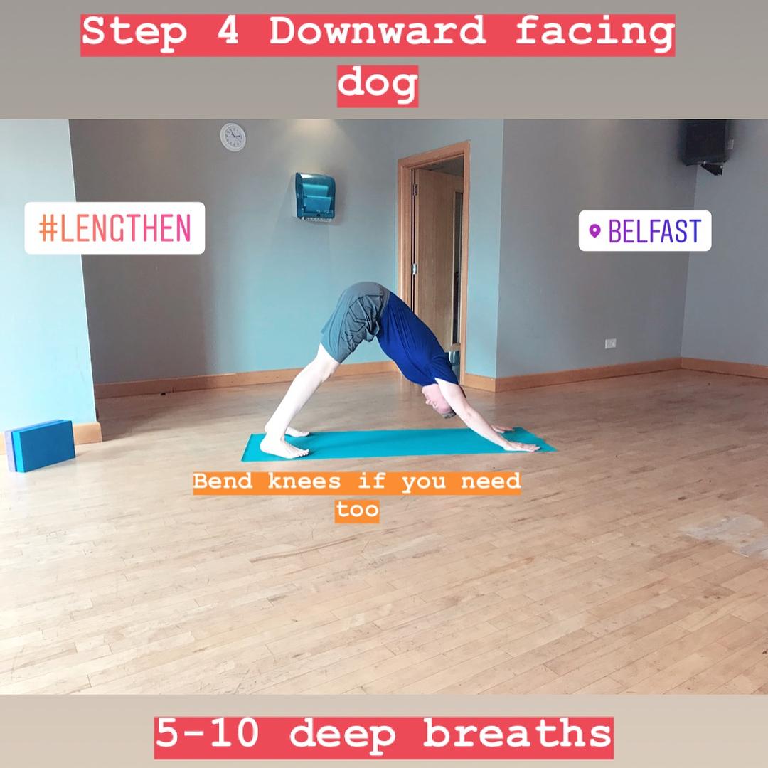 Step 4 Downward Facing Dog Yoga for Leg Day Fitness Belfast.jpg