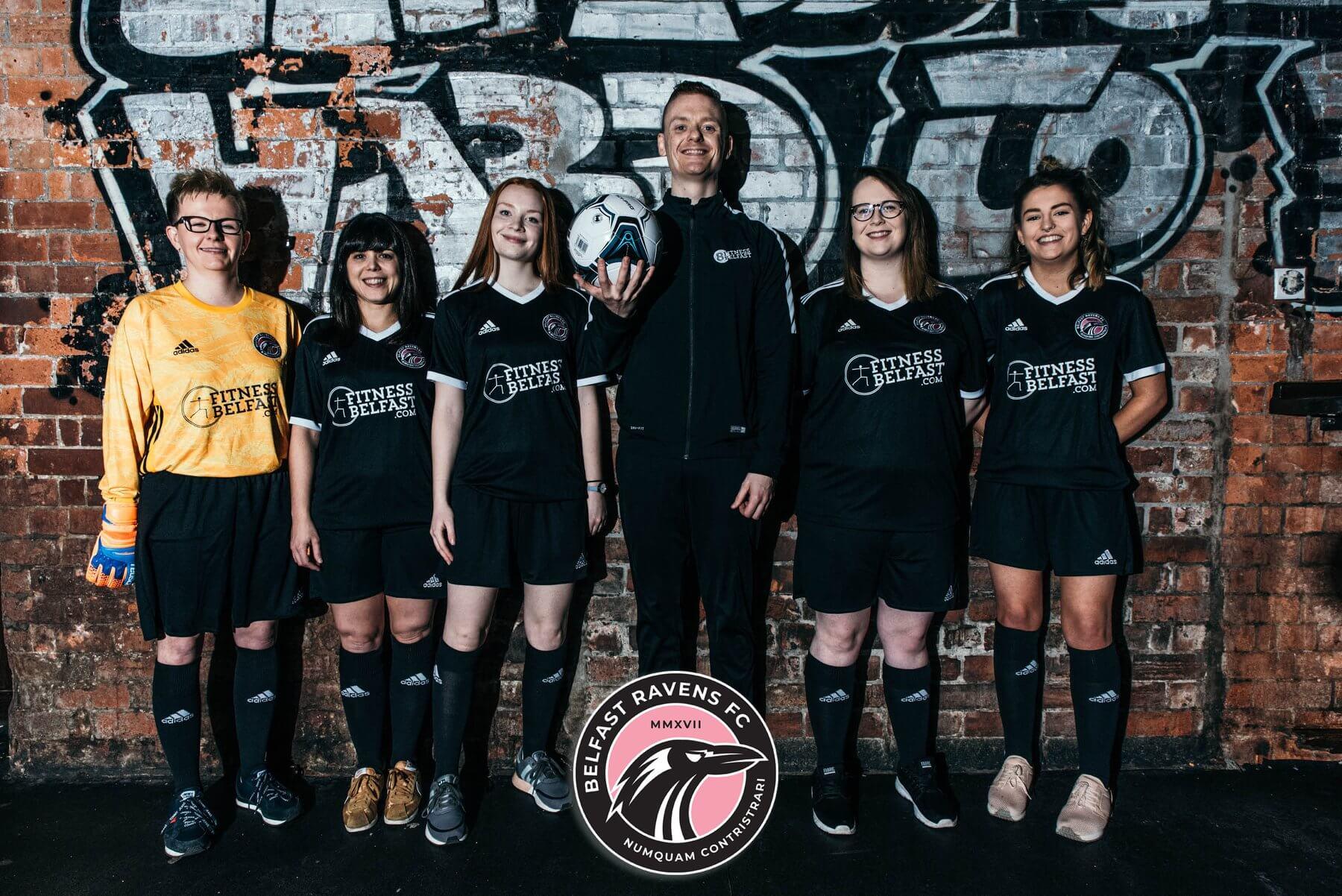 Fitness Belfast Sponsors Belfast Ravens Ladies Football Team Kit Launch.jpg