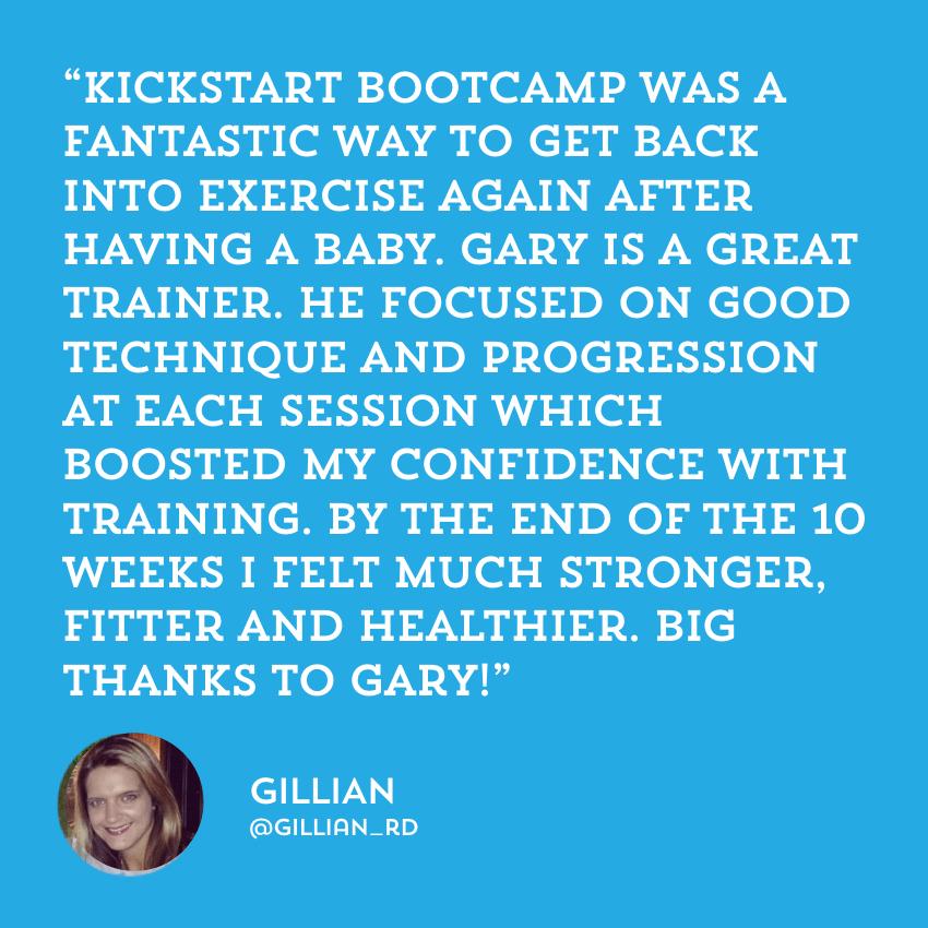 Fitness Belfast Kickstart Bootcamp testimonials reviews Gillian.png