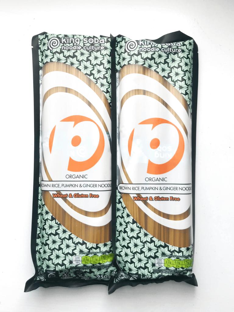 Asia Supermarket Belfast - Fitness Belfast Top Picks - Vegan Vegetarian - Brown Rice Pumpkin Ginger Noodles.png