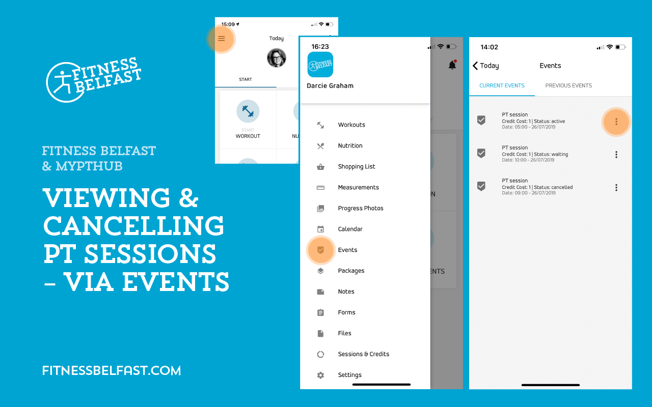 Fitness Belfast + MyPTHub - Using the app - Viewing Cancelling PT Sessions - Events 1.png