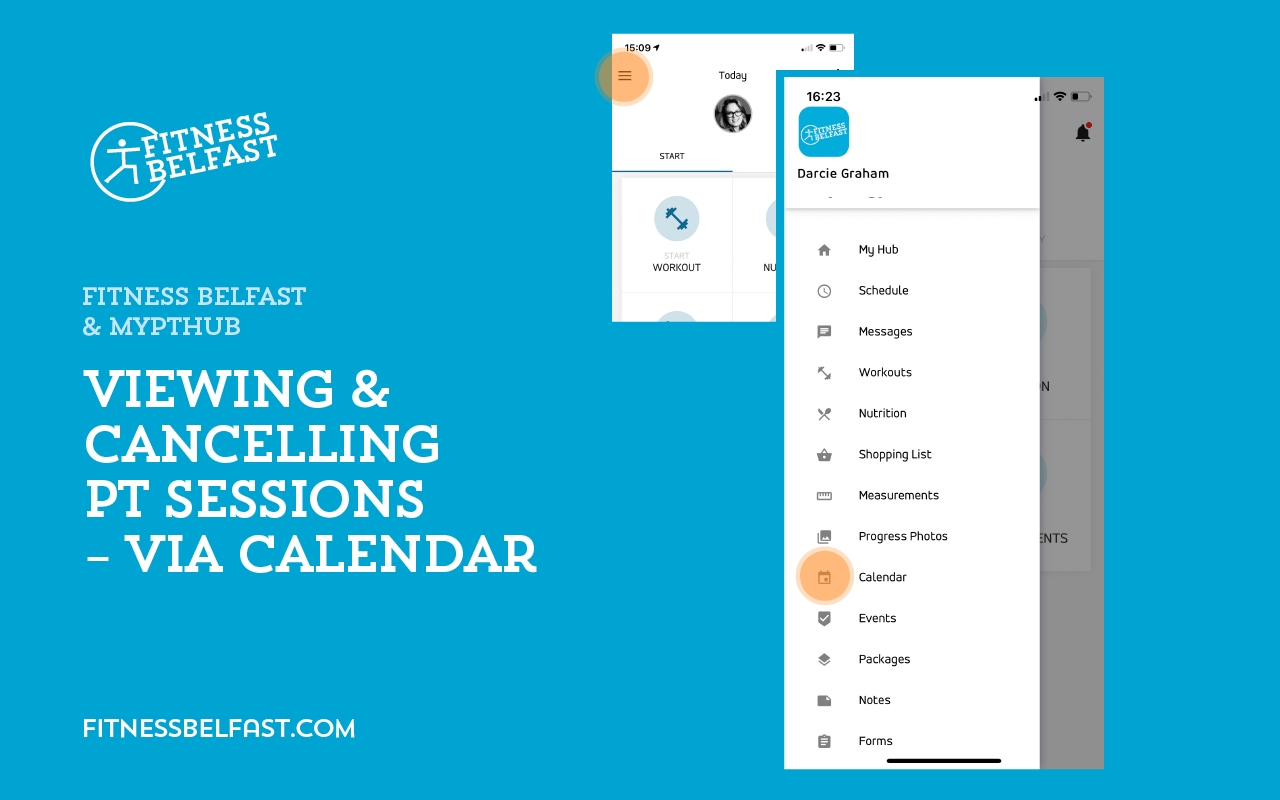 Fitness Belfast + MyPTHub - Using the app - Viewing Cancelling PT Sessions - Calendar 1.png