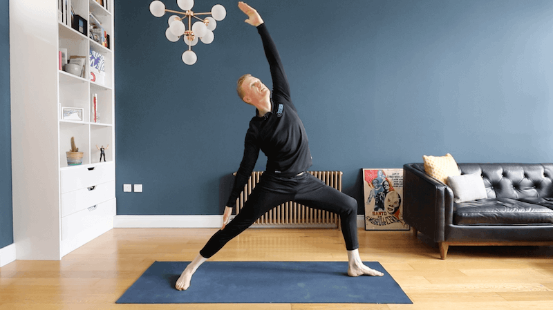 Episode 1 – The Ultimate Warrior - Target areas: Whole BodyLevel: 1Time: 40 minsUnleash your inner warrior with this intro practice. Perfect for yoga newbies, or those hoping to practice some of the foundational standing postures in the series.