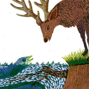 Pearson Education   Various illustrations included in an anthology of short stories and poetry for children