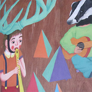 The Gallimaufry   A set of characters depicted across a mural and printed media to strengthen the venue's identity.