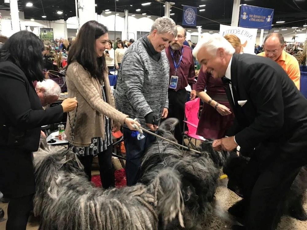 Mr. O'Hurley (actor) loves our dogs