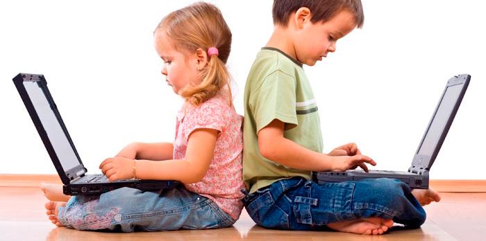 Resultado de imagen de niños visión nuevas tecnologías