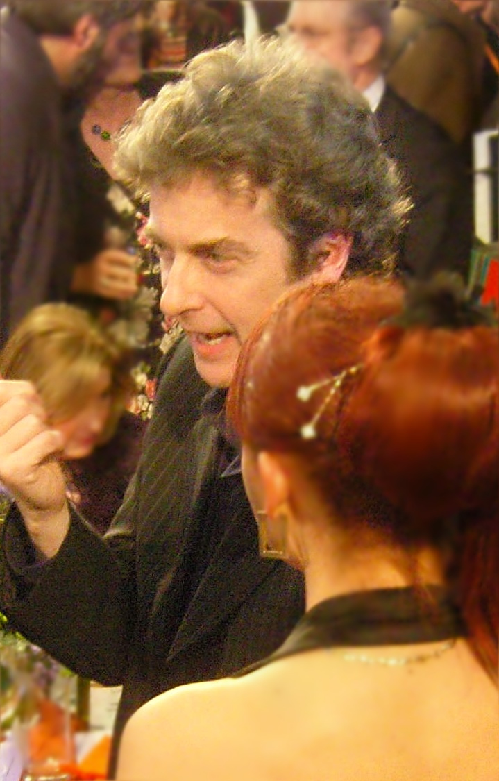 Peter Capaldi is the new Doctor. Image by Hilary Perkins via Wikimedia