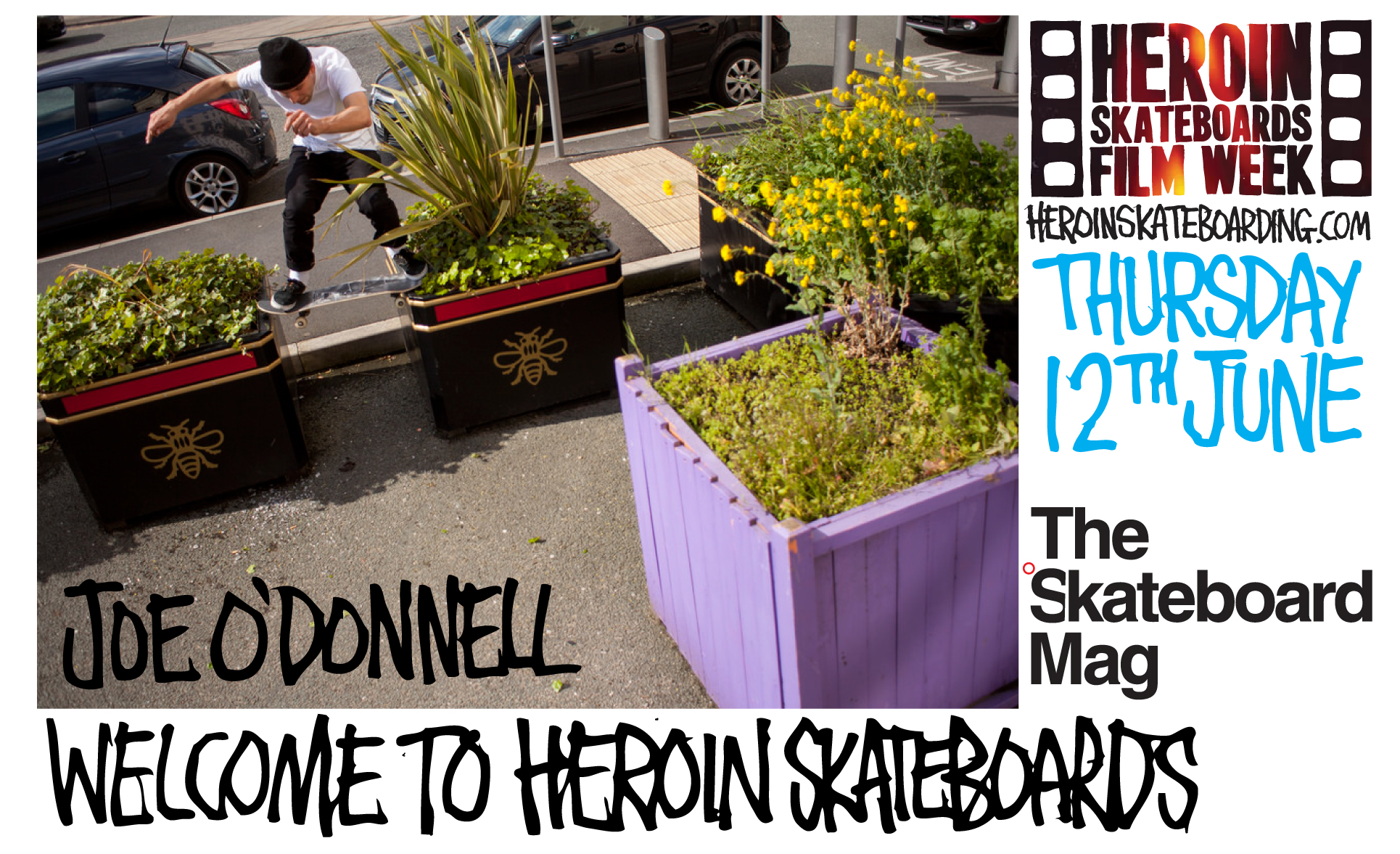 Herojn film week continues with Joe O'Donnells welcome to part. Filmed and edited by James Craven. Joe rips, welcome to the team!