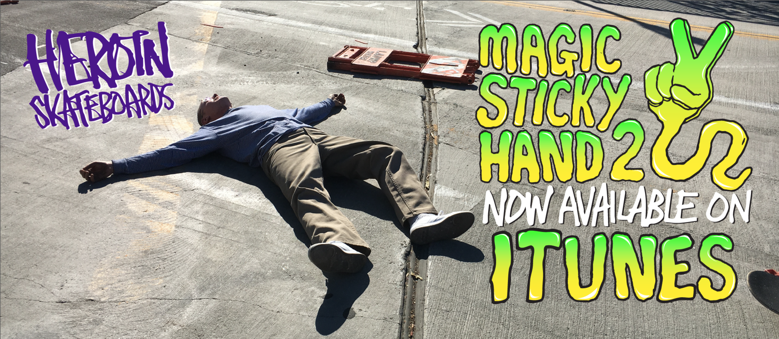 Magic Sticky Hand 2 is finally available to own in a virtual sense. I wanted Skate Shops to have the DVD copies first and to give them a chance to sell through. But why should DVD player owners have all the fun? Now you can buy our latest video, featuring Pat Franklin, Anaiah Lei, Zach Riley, Craig Questions, and Logan Devlin, and watch it on your phone, or on your big telly. This edit has an extended Craig part, and new songs for Anaiah and Logan! Definitely worth the paltry $4.99 asking price. We made this one a short, sweet and fun video, to get you juiced up to skate.
