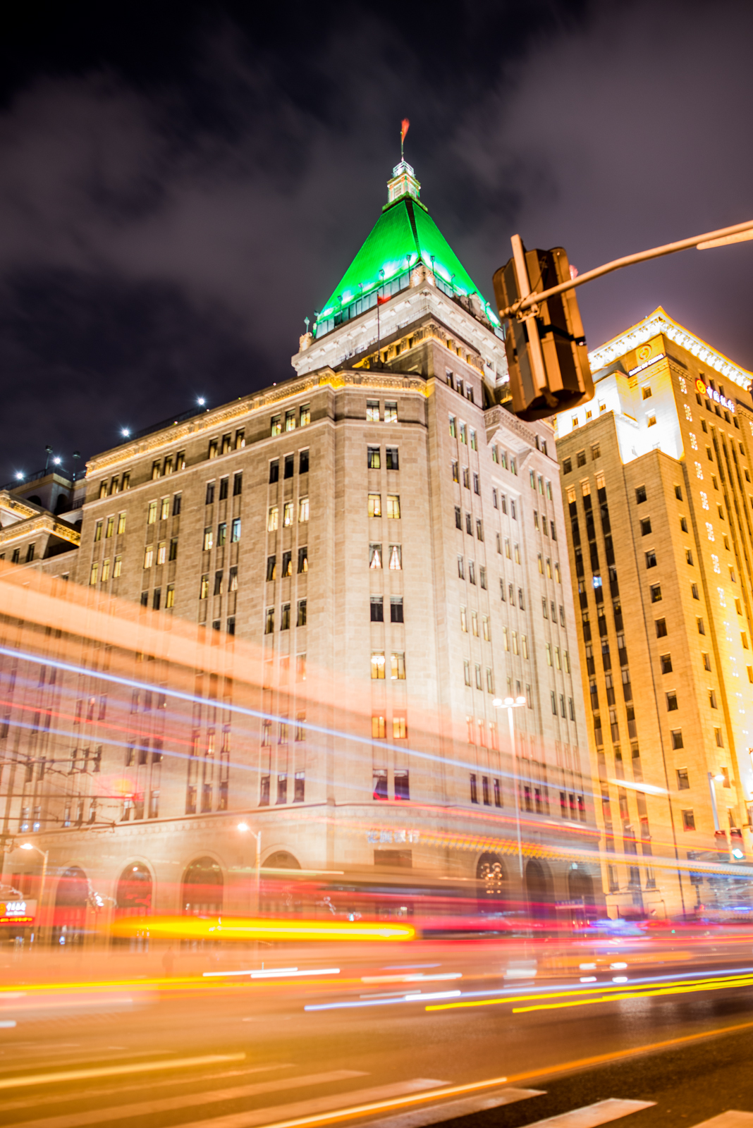 Long exposure on the Bund
