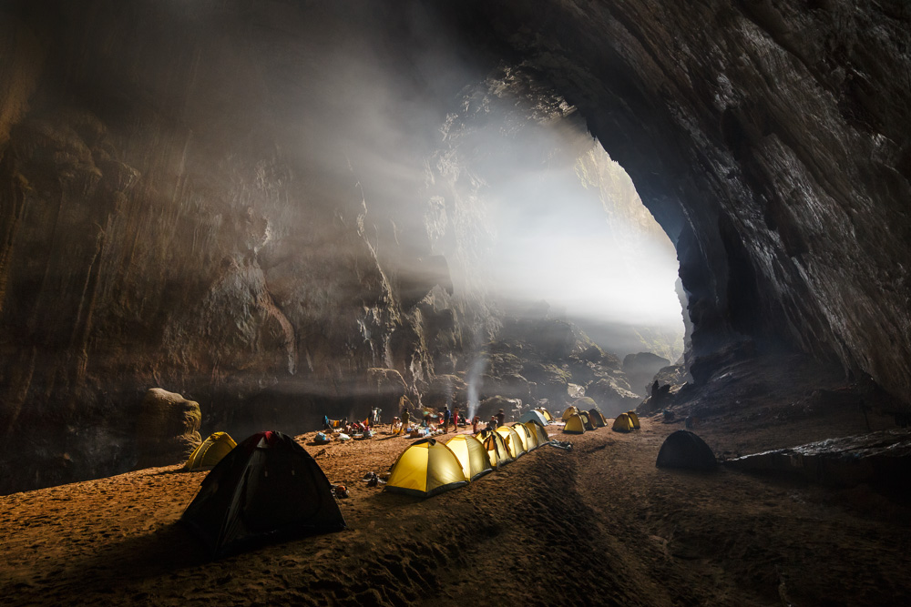 The largest cave in the world, Son Doong, Vietnam.