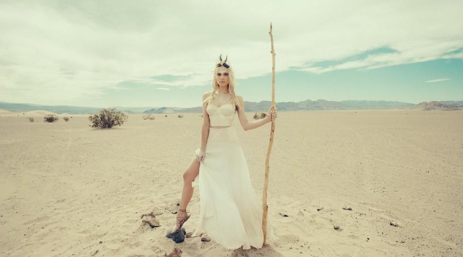 Bohemian Wedding Line By Mara Hoffman // Photos by Olivia Malone // The Weekend Edit
