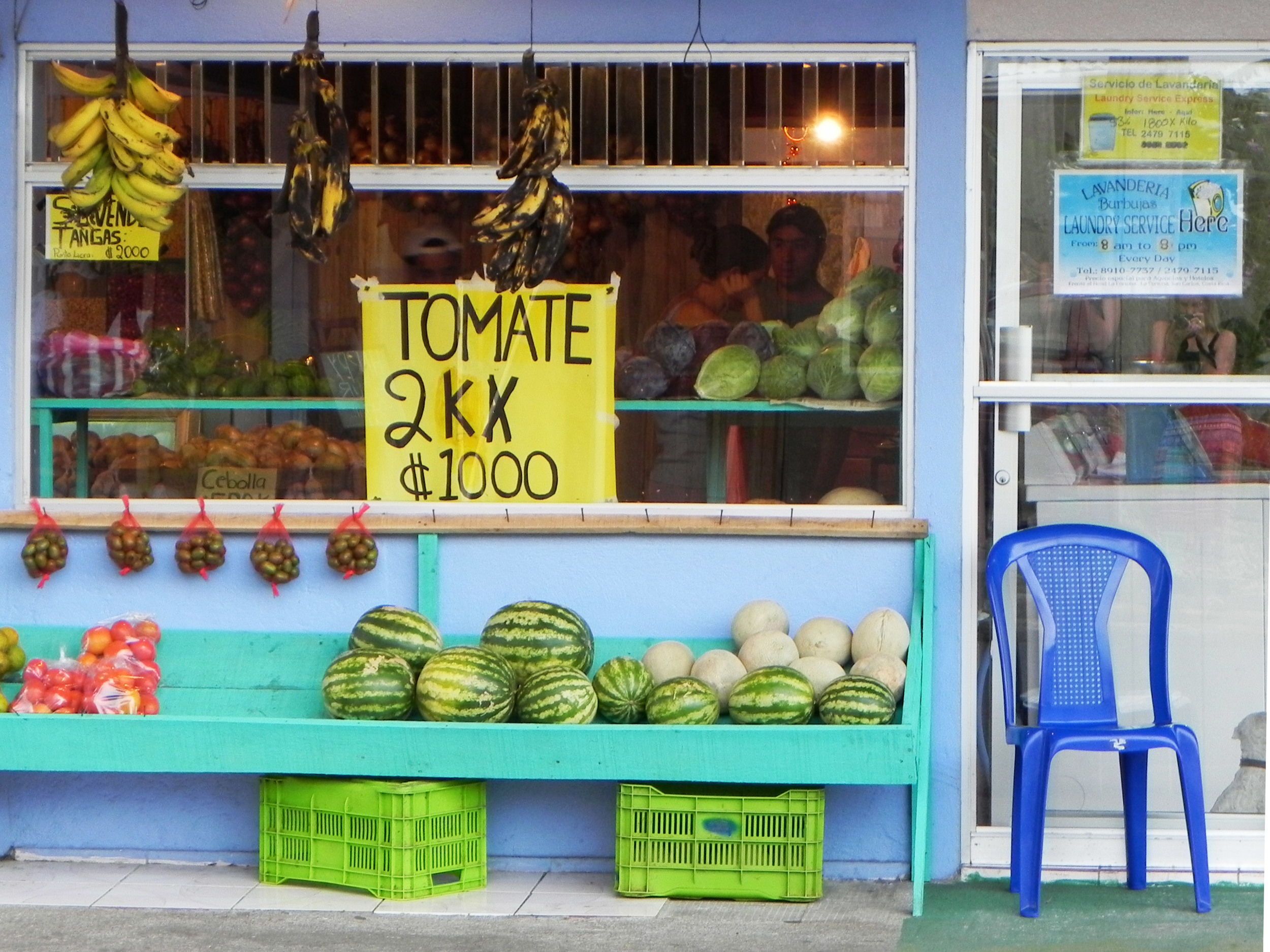 Fruit Stand, Costa Rica ©Ty Govaars