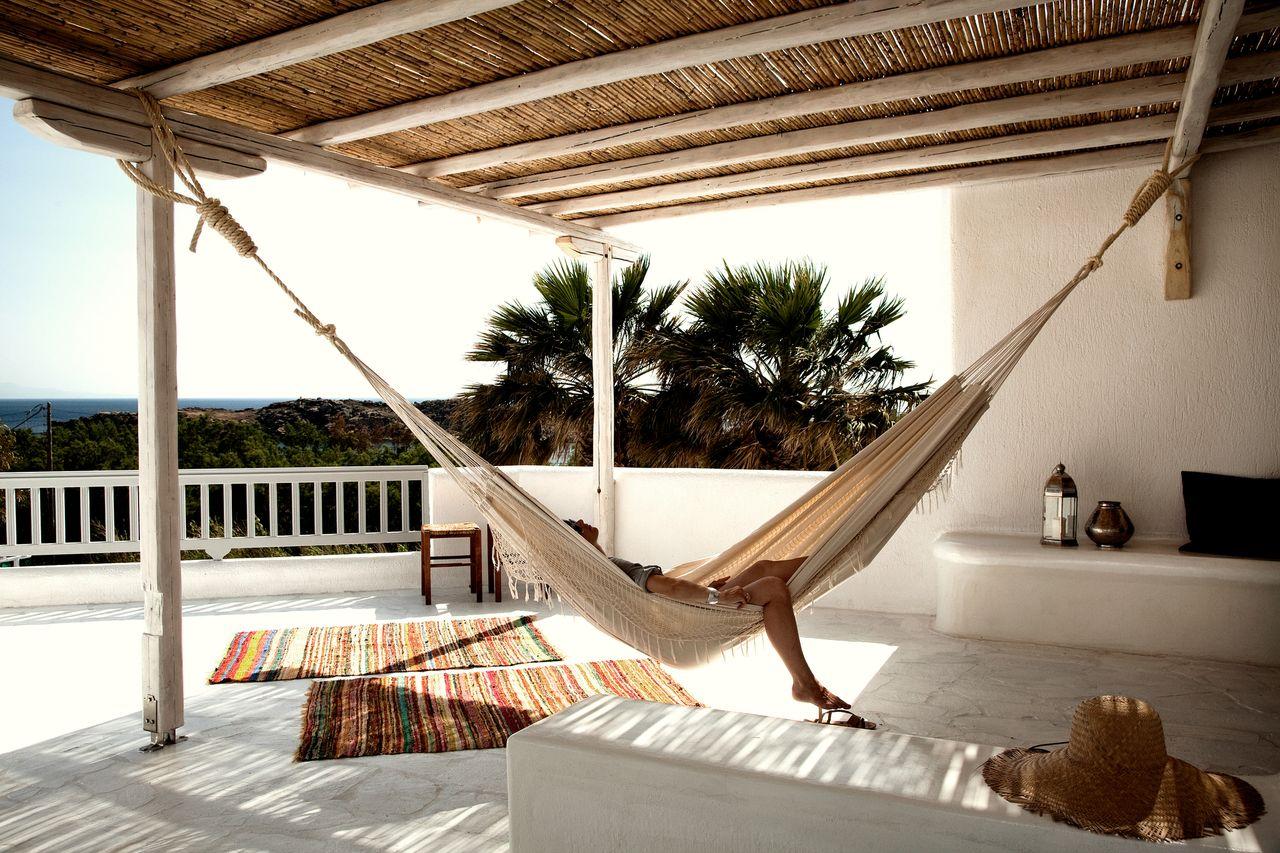 San Giorgio Hotel // Bohemian Luxury // Mykonos, Greece