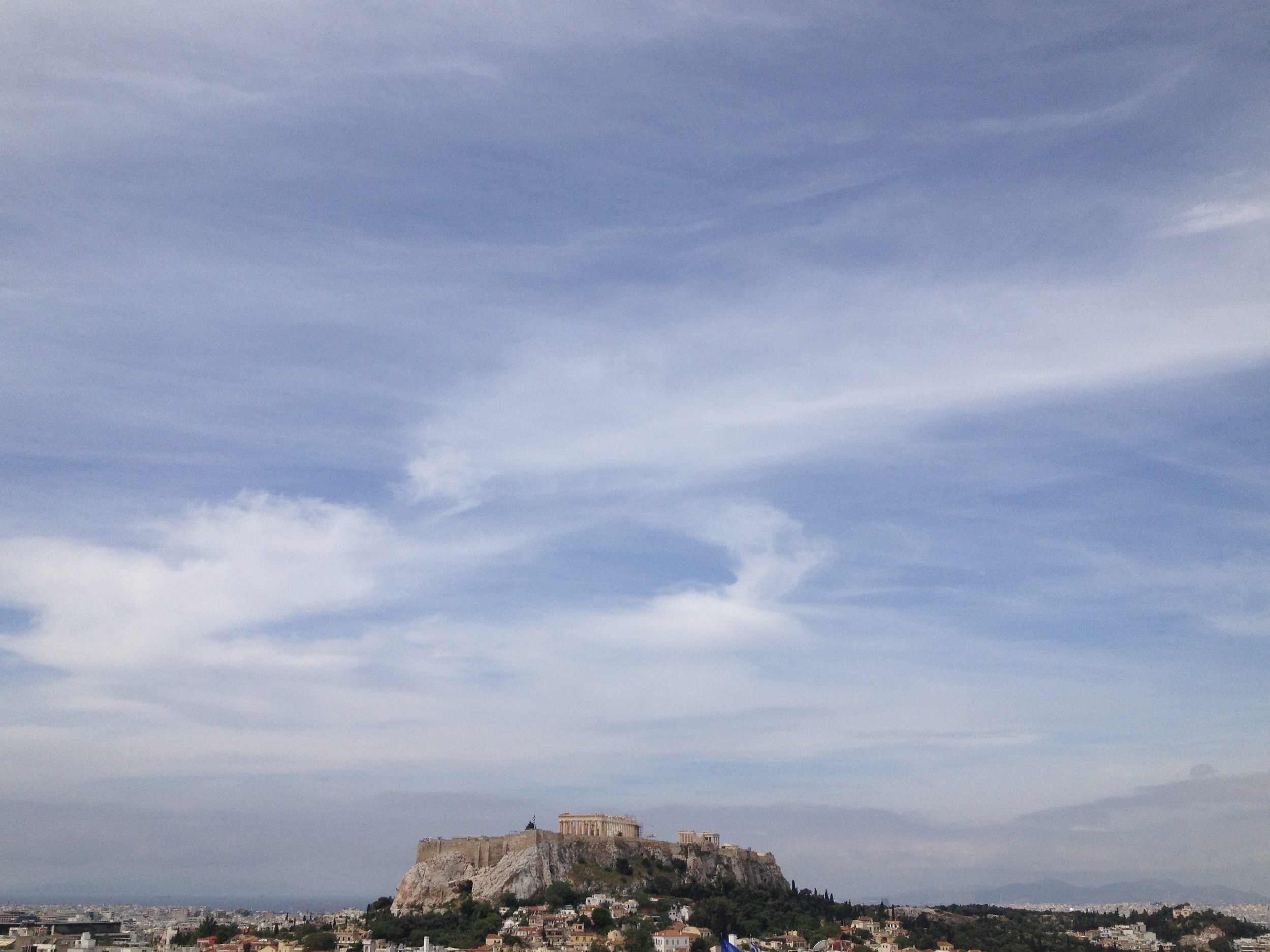 View from the Hotel Grande Bretagne, Athens, Greece