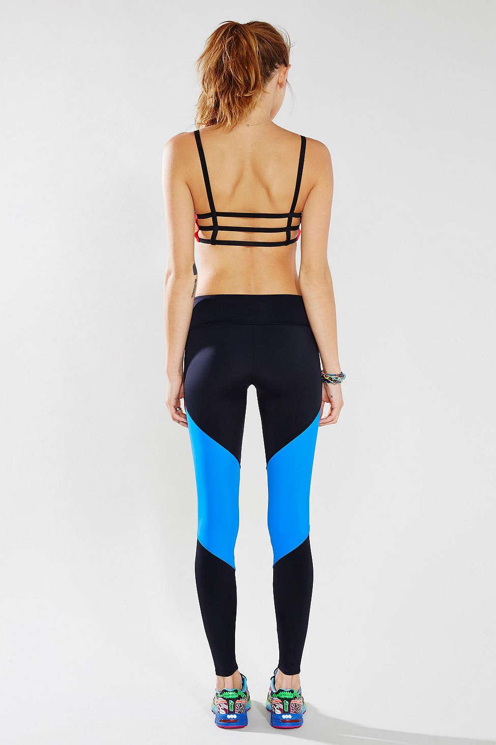 Onzie Royal Blue Track Legging