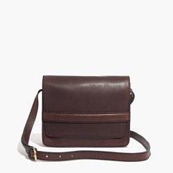 the leather albury crossbody bag