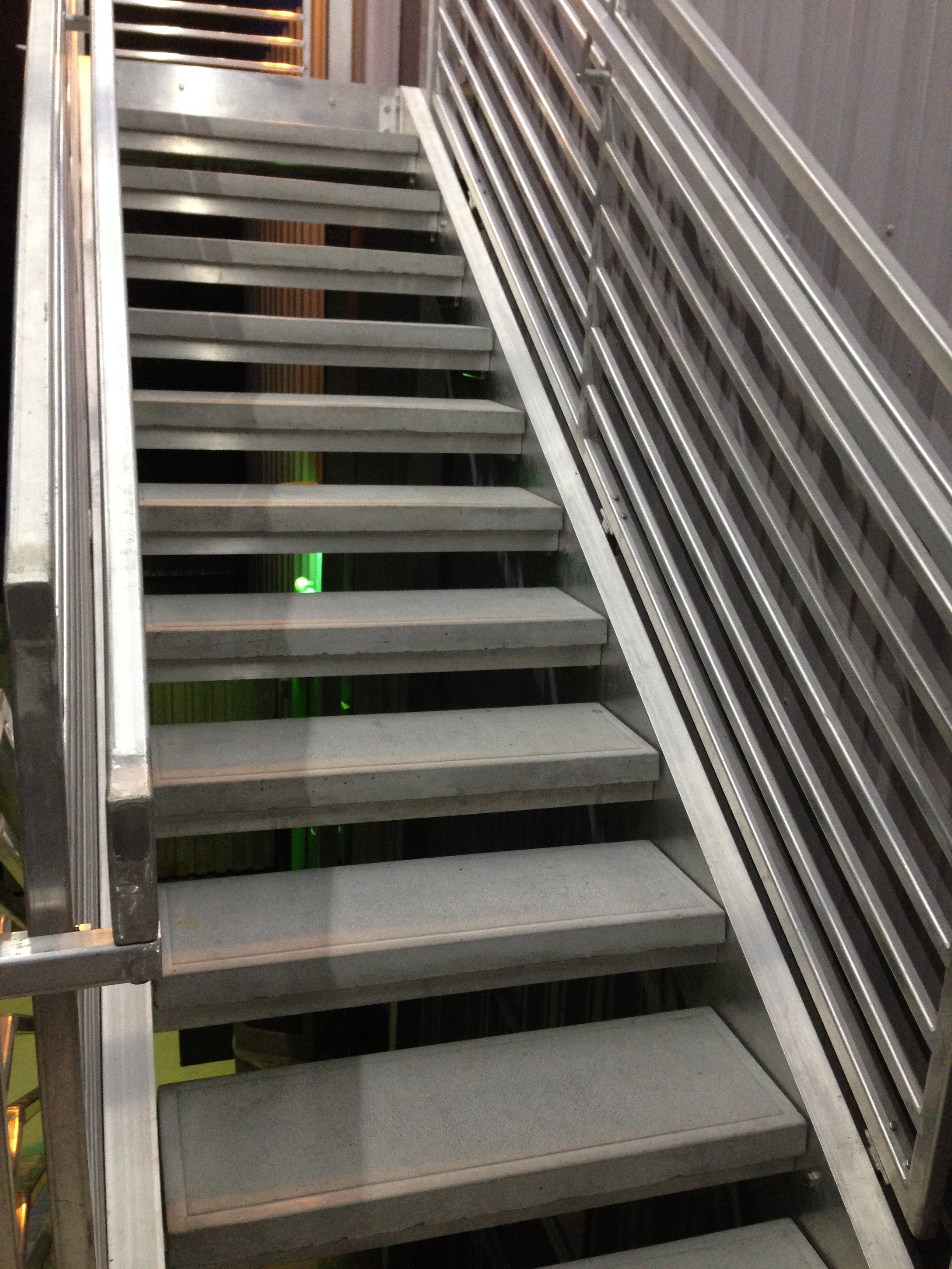 aluminum staircase with concrete treads.JPG