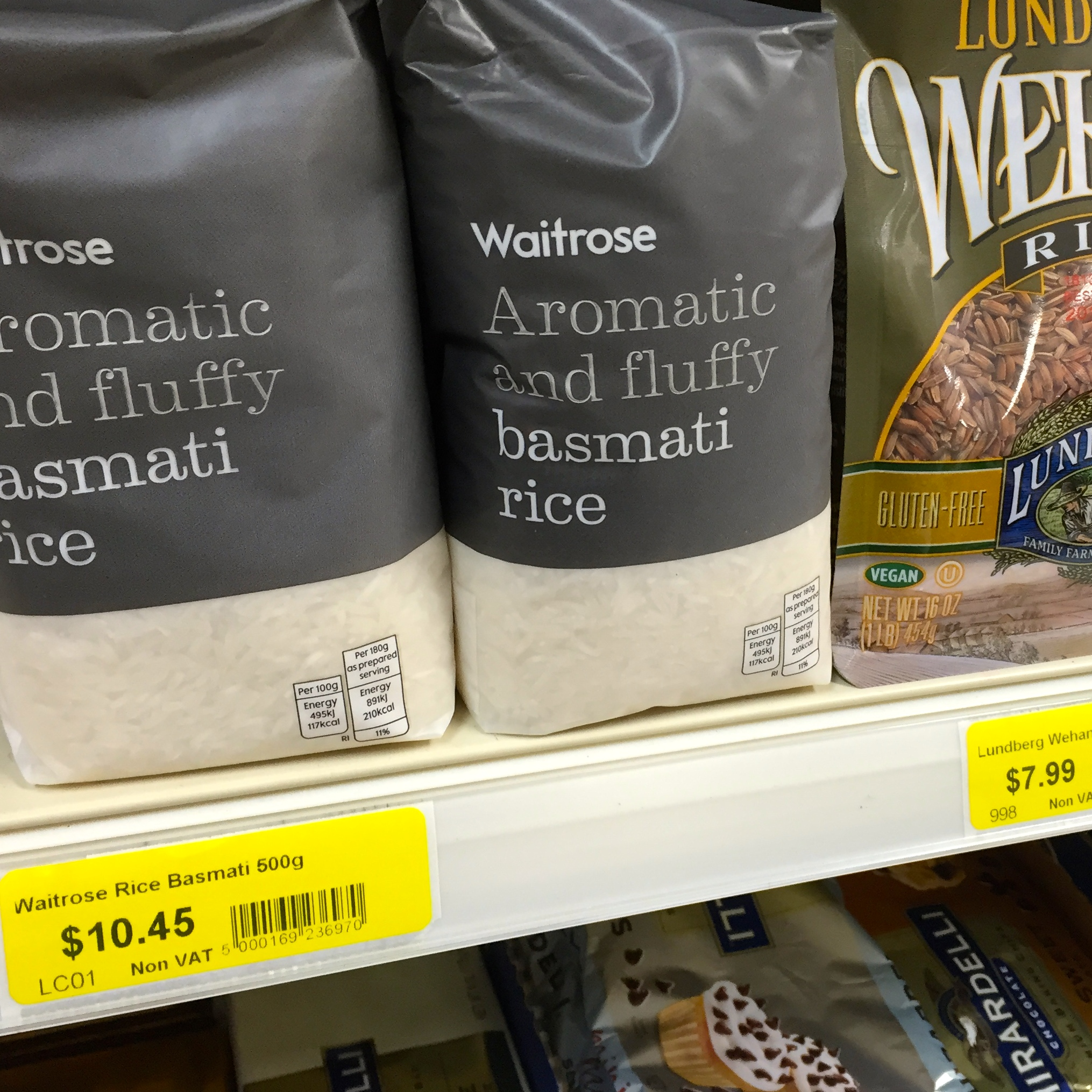 Reassuringly British produce available