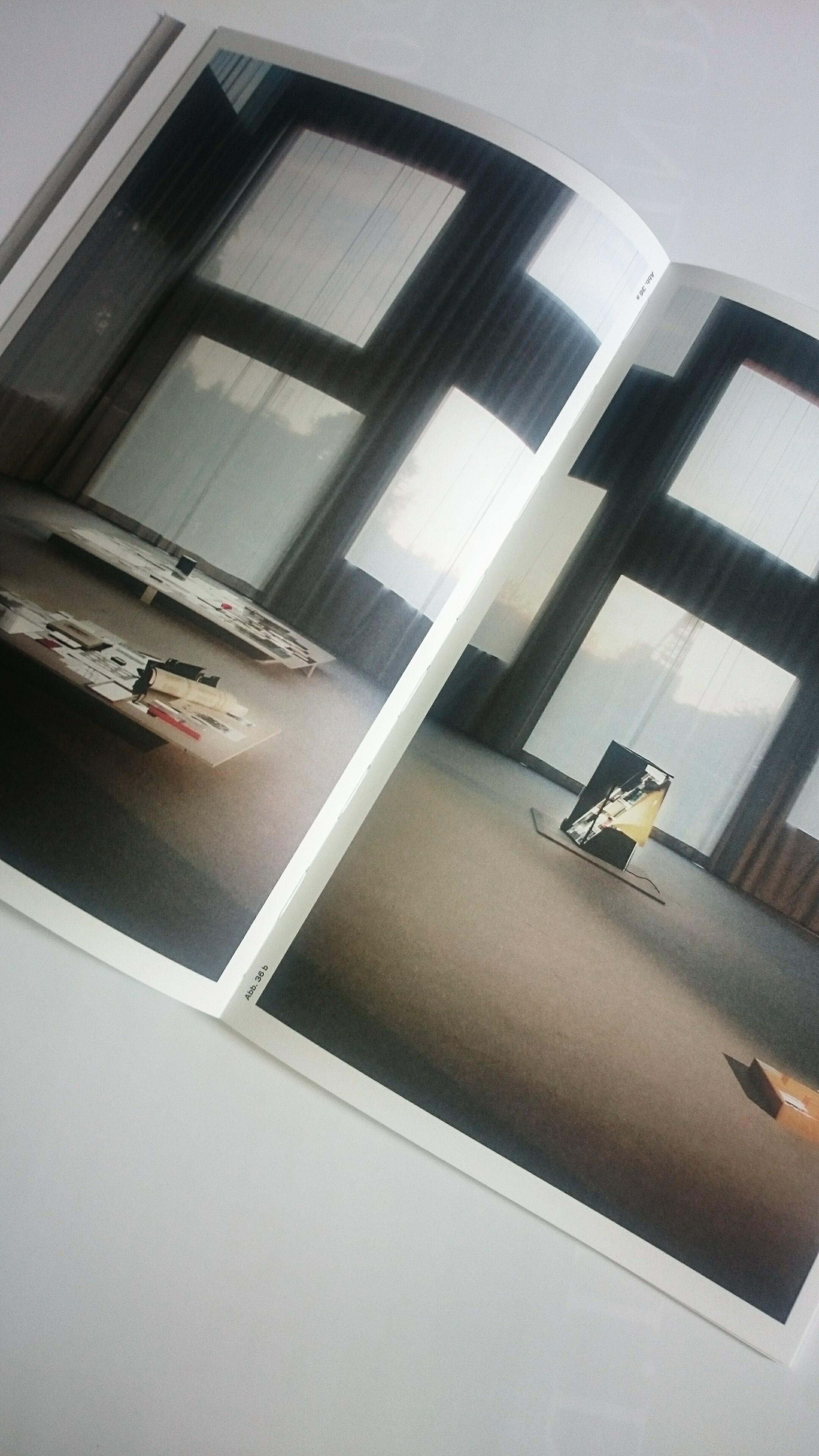 Ausstellungsansicht Sanaa im Katalog