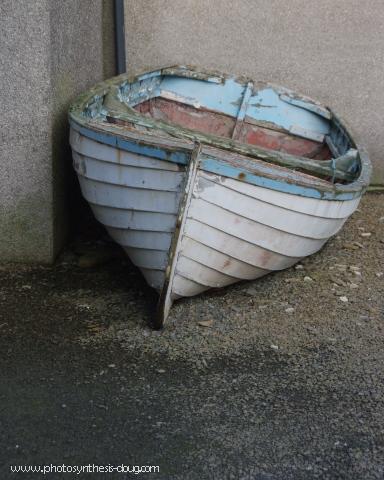 Rowboat, Skara Brae, Orkney Islands, Scotland, 2008