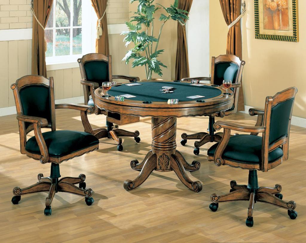Poker table dark green.jpg