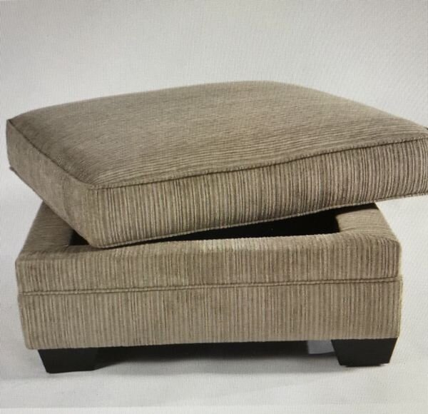 """OTTOMAN WITH STORAGE - $297Ottoman with storage. NO SOFAMeasures 36"""" L&W 21""""HBrand new in the box- discontinued itemSKU# ASH3050011"""