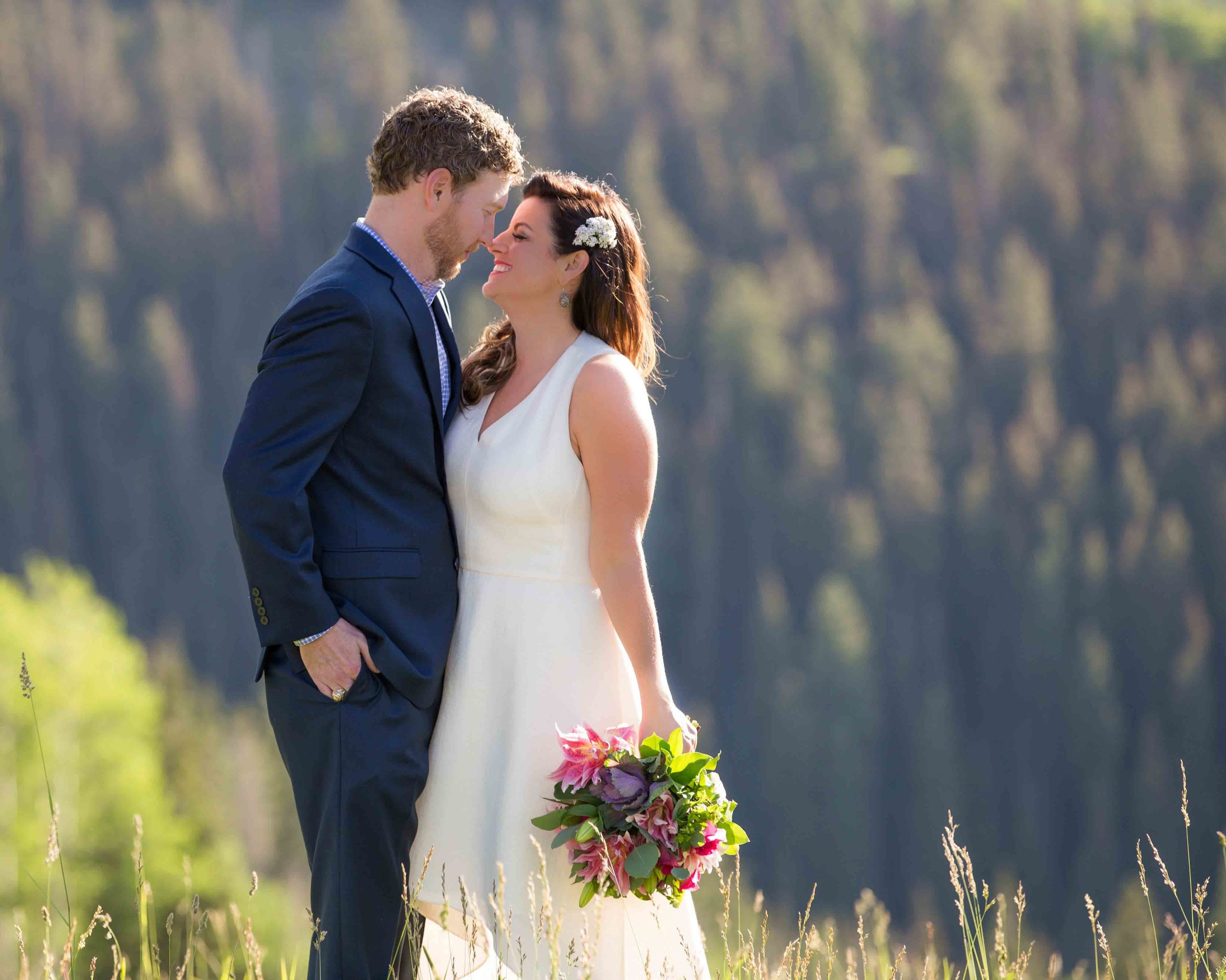 Klair & Kyle - My husband and I decided to elope while on vacation in Telluride. Lisa was wonderful to work with and made the whole process super easy. Our photos are absolutely out of this world. She was fun to work with and helped us figure out what shots we needed (we are not planners). If you are lucky enough to have her involved with your event - you will not be disappointed!