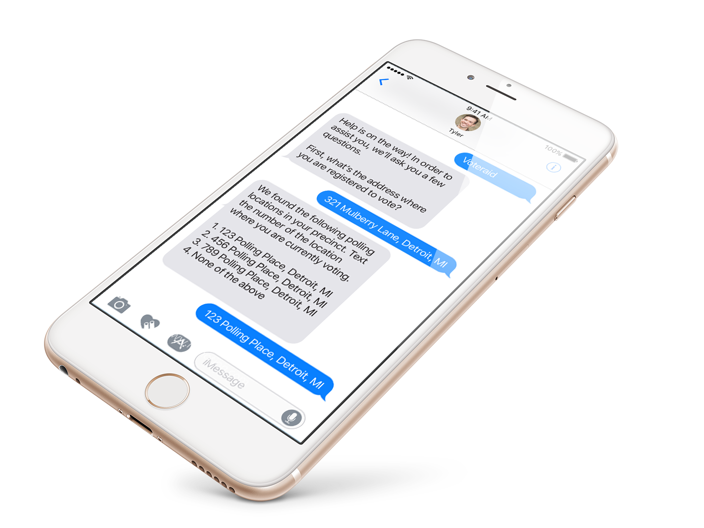 My Role - PRODUCT DESIGNERPlatforms: SMS, Facebook MessengerMy responsibilities for this project included researching the problem space, concept ideation, copywriting, fact-checking the laws with expert volunteers, designing user flows, and prototyping.