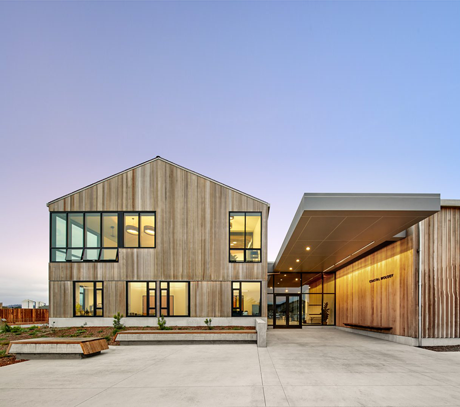 Coastal Biology building - Location: Santa Cruz, CAClient: University of California at Santa CruzArchitectural Firm: EHDDYear Built: 2018Size: 40,000 sq. ft.Awards: LEED Gold CertifiedMy role: Interior architecture