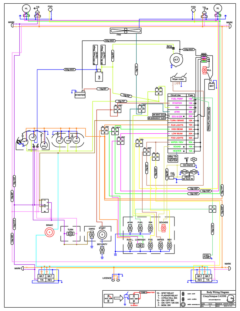 Wiring Diagram for 240z