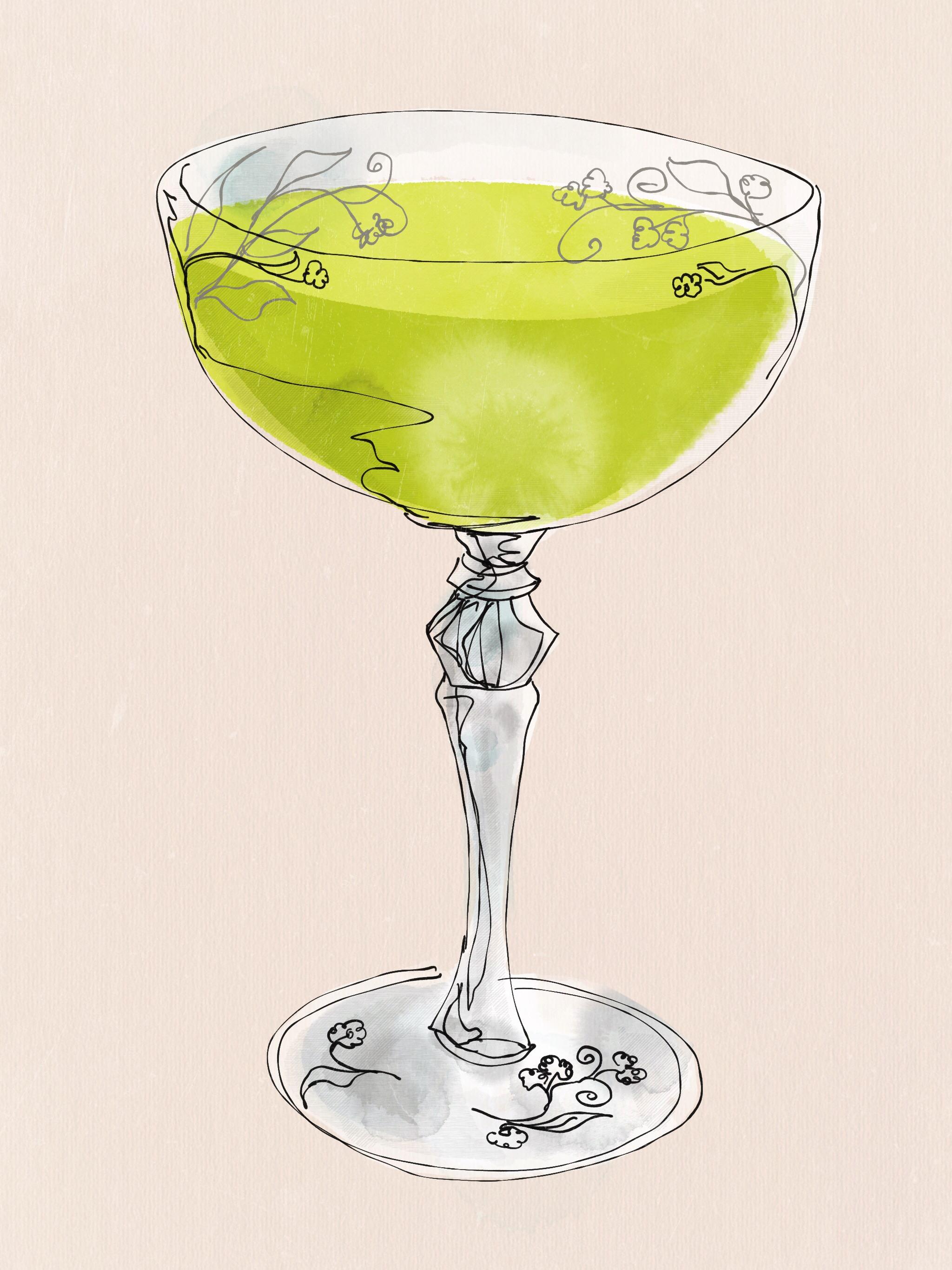 no garnish cocktails need fancy glasses