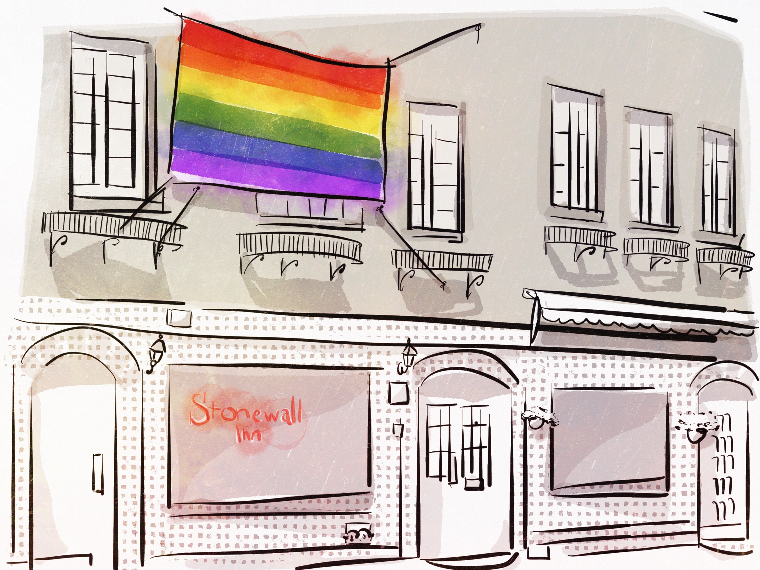 Stonewall Inn, ready for your historic pilgrimage