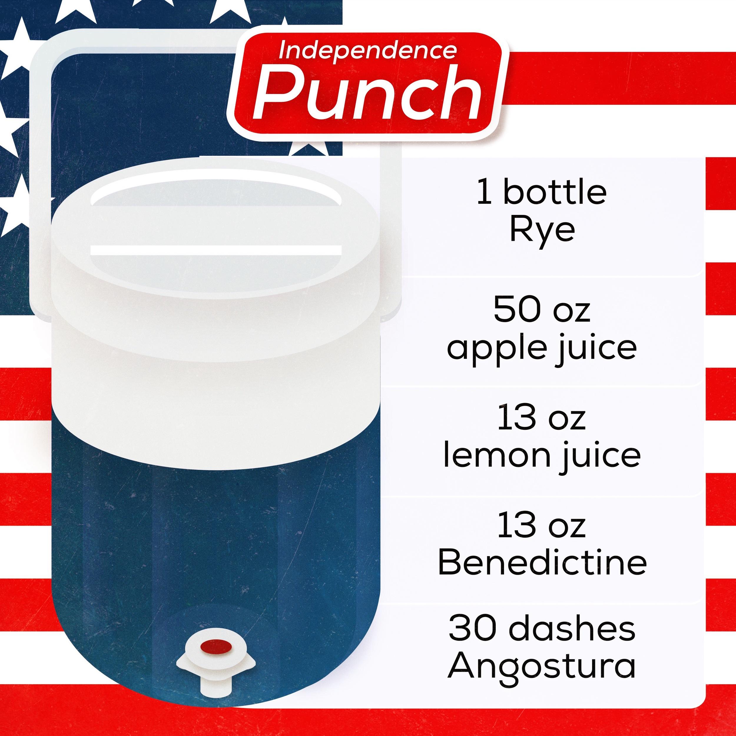 coleman cooler 4th of july independence punch andrew bohrer.JPG