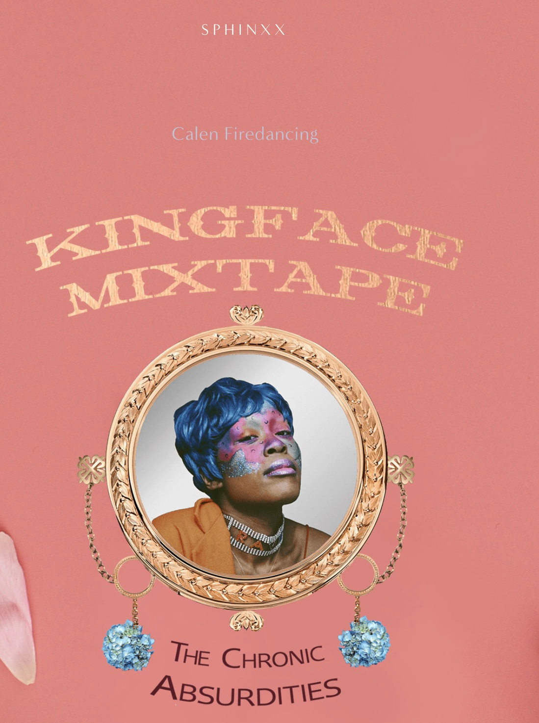 Kingface Mixtape: a new SPHINXX essay series by Calen Firedancing. - Follow one Black queer poet's trip through the past, present, and future. our afflictions are chronically absurd; our poetics must be too.Read the full series now.