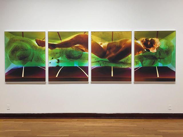 """www.robertcalafiore.com """"now i can see how i felt"""" 50"""" x 160"""" pigment prints enlarged from unique pinhole camera c-prints, originals 20"""" x 16"""" each @thomaswernerprojects #thomaswernerprojects"""