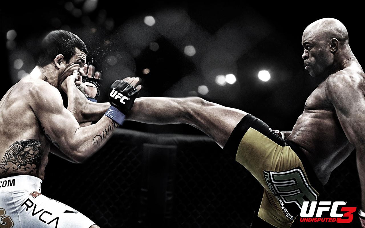 UFC Undisputed 3 Start Screen