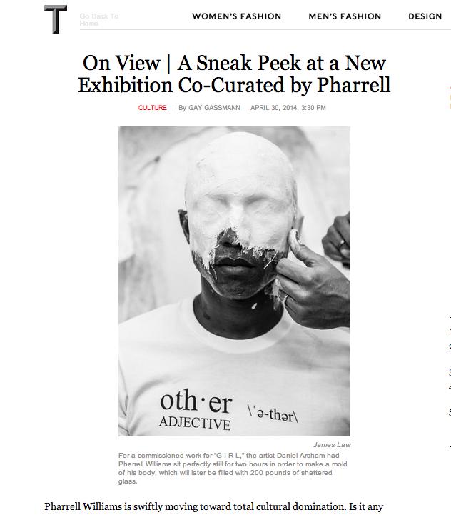 Pharrell Arsham Law - New York Times