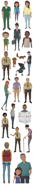 Character Designs - Celeste Potter