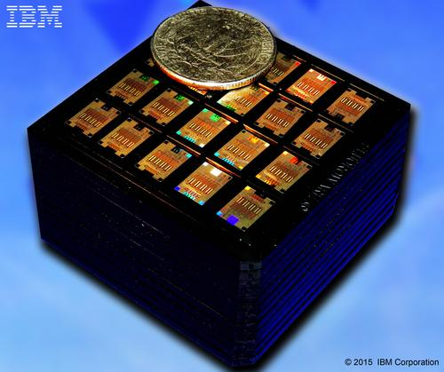IBM silicon photonics chips