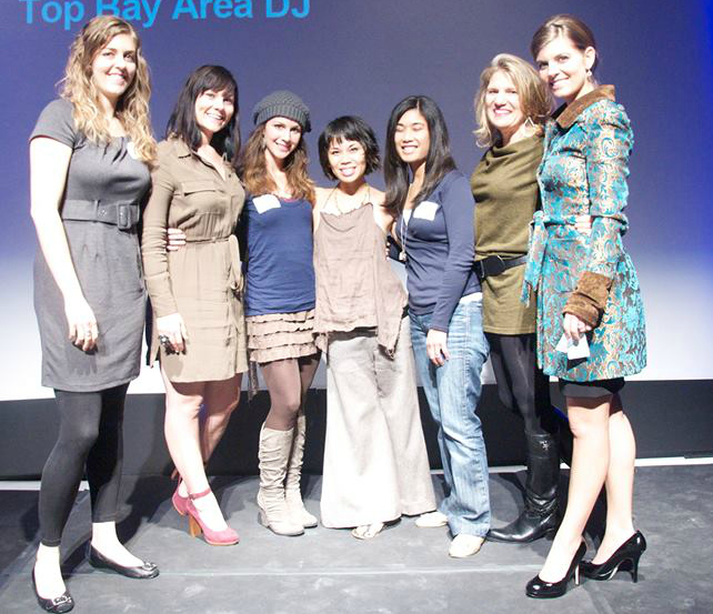 Speaking at TEDx. Here, with Jessica Libbey, Michelle Fetsch, Rosalyn Fay, Alara Castell, Mama Gena & KC Baker
