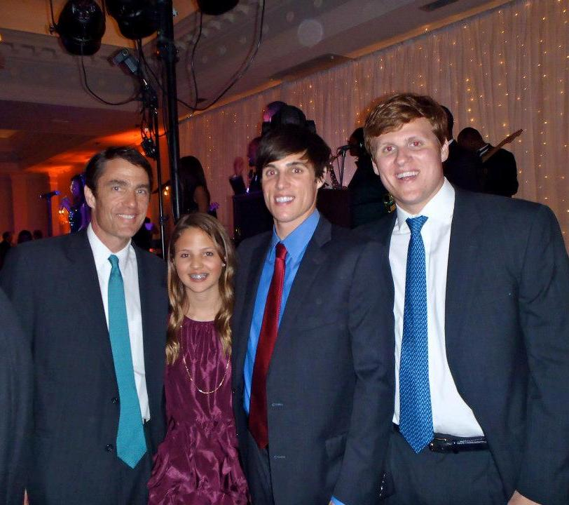 CI Finance :: John Hunt Jr. (Financial Planning Football Family) has been managing 9-figures for over 26 years with the same firm. Here with Joey, Will & Stuart Hunt