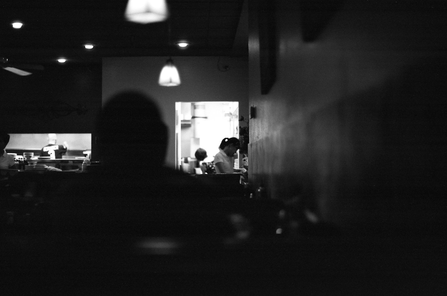 View of kitchen @ House of Pho