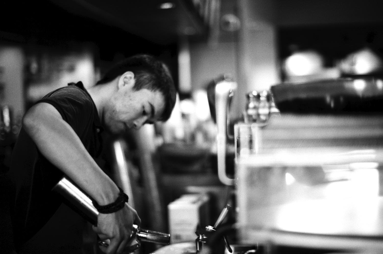 A Starbucks barista never looked so good on digital sensors