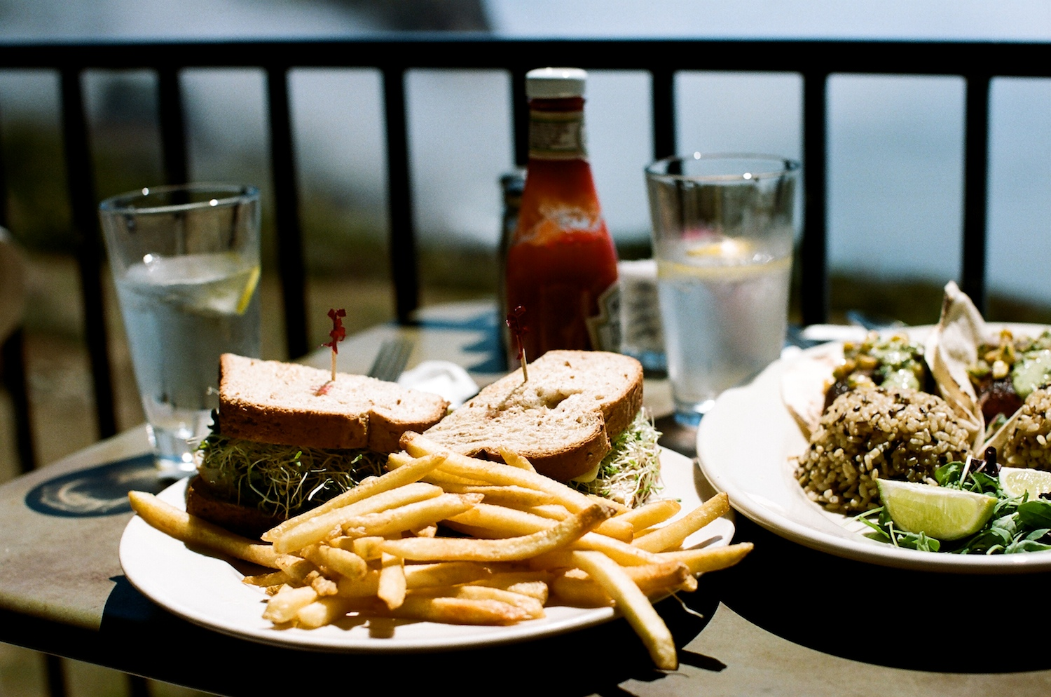 Fantastic lunch options at  Lucia Lodge Restaurant , Big Sur