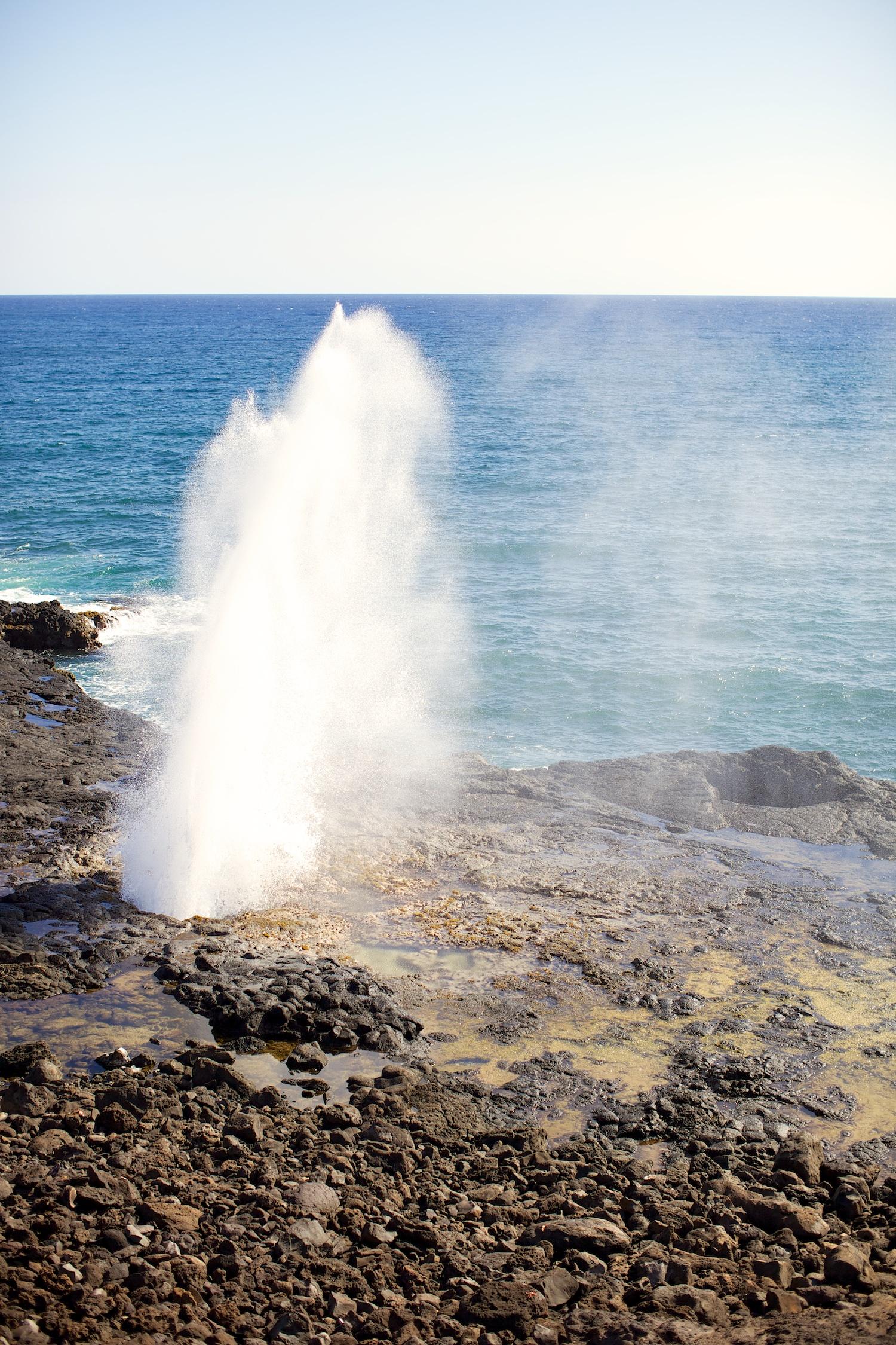 Spouting Horn @ Lawai Beach