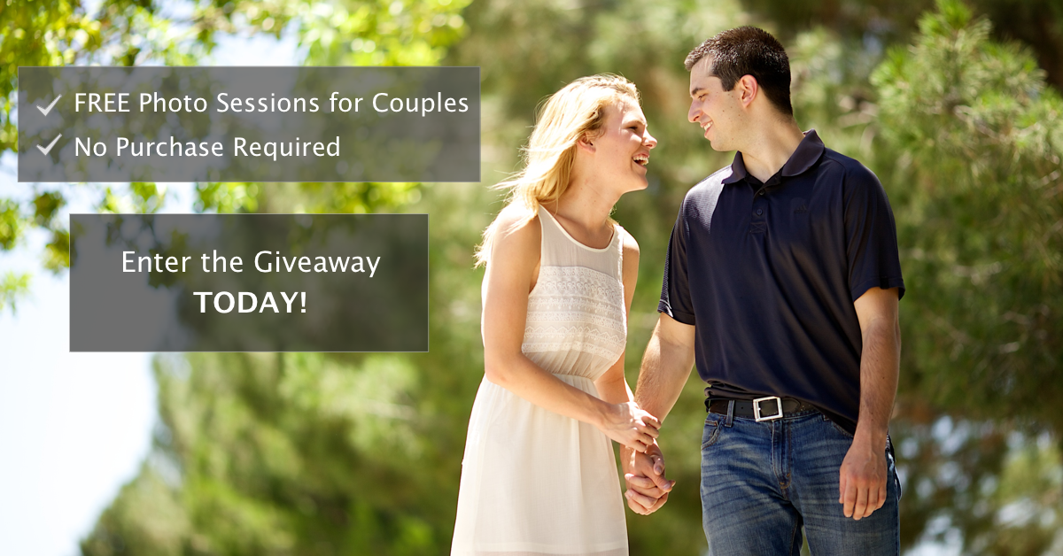 Free Photo Sessions for Couples Phoenix Giveaway
